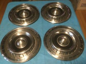 Vintage 1950 S 1960 S Chrysler Dodge Plymouth Hubcaps Wheel Covers Hub Caps 14