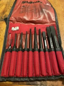 Snap On 11 Piece Punch And Chisel Set Ppc710bk