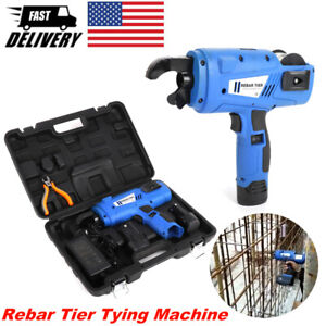 Automatic Rebar Tier Tying Tool Machine Portable Steel Strapping Tool Cordless