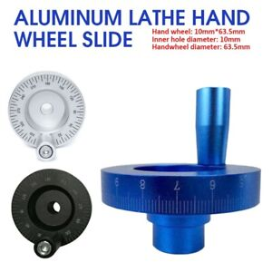 Aluminum Lathe Hand Wheel Slide For Laser Engraving Small Lathe Accessories New