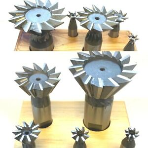 5 Pc Dovetail Cutter Set 3 8 1 7 8 Pick Between 45 Or 60 Degrees