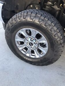 2019 Ford F250 Wheels And Tires 18 And 295 70 18