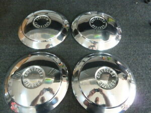 1960 1964 Chevrolet Chevy Corvair Hubcaps Wheel Covers Center Caps