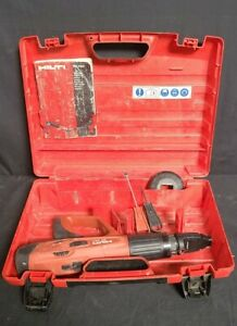 Hilti Dx 460 Powder Actuated Fastening Tool Concrete Nailer In Case Automatic