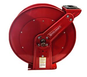 Reelcraft Pw81000 Ohp Pressure Washer Hose Reel 5000 Psi 3 8in X 100ft Cap