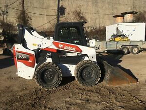 2020 Bobcat S76 W 26hrs 70k Machine Inspection operation Video Included