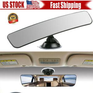 Universal Rear View Mirror Glass Suction Cup Stick For Car Truck Suv Us Stock