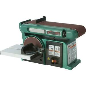 Grizzly G0787 4 X 36 Horizontal vertical Belt Sander With 6 Disc