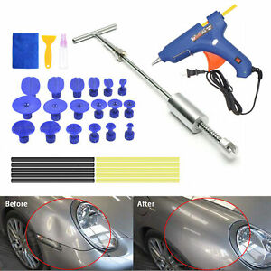 Auto Dent Tools Paintless Dent Effective Removal Hail Tools Kit Slide New Puller