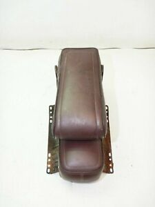 Jeep J10 J20 Grand Wagoneer Center Console Arm Rest Middle Seat Burgundy Maroon