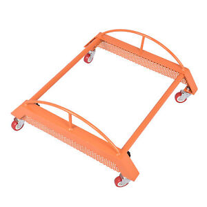 Aa012 Adjustable Car Tire Wheel Dolly Heavy duty Tire Moving Dolly For Workshop