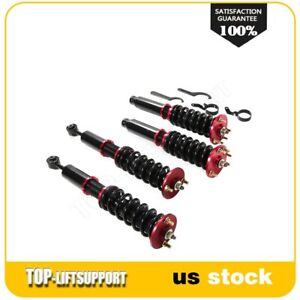 For Honda Accord 2003 2007 Acura 04 2008 Coilover Shocks Struts Kits Adj Height