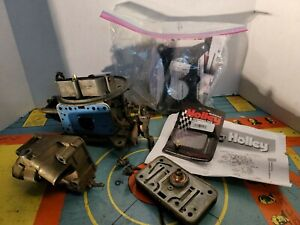 Vintage Holley 350cfm 2 Barrel Carburetor 7448 Model 0441 Lot
