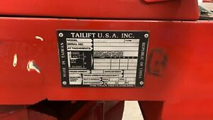 Tailift Usa Used Dv8r Narrow Aisle Articulating Forklift Space Maximizer