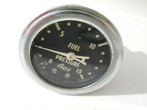 Aero Fuel Pressure Gauge 0 15 Illuminated 2 Body 2 25 Bezel