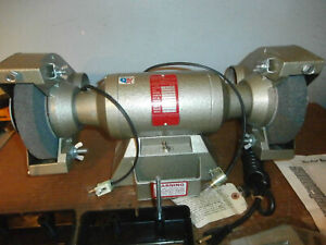 New Blue Point H d model Bg 500g 7 1 2 H p Bench Grinder By Snap on Usa read