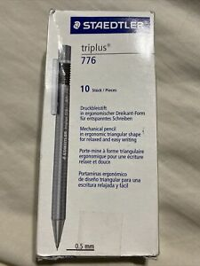 Staedtler Triplus Micro Triangular Mechanical Pencil 0 5mm pack Of 10