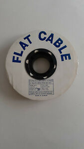 Flat Ribbon Cable 20 Conductor 100 Foot Roll