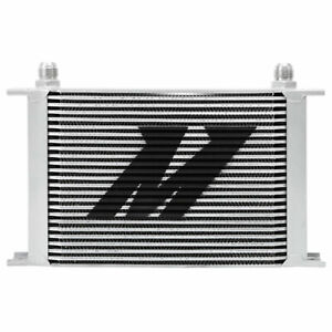 Mishimoto Mmoc 25 Silver Universal 25 Row Oil Cooler 10an Inlet Outlet