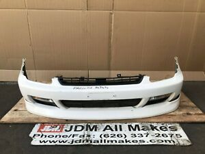 1996 1999 Jdm Honda Prelude Bb5 Bb7 Front Bumper Cover With Grill Lip Fogs Oem