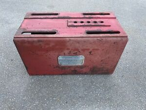 Farmall C Super C 200 230 Original Seat Base Tool Box Assembly