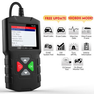 Obd2 Code Reader Automotive Turn Off Engine Fault Light Diagnostic Tool Scanner
