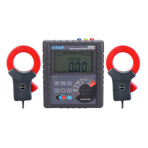 Etcr3200 Double Clamp Earth Grounding Resistance Tester kd