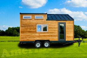 Brand New 2021 20 Ft Tiny House On Wheels Shell Thow Home Shell 20 X 8 5
