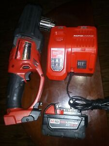 Milwaukee 2707 20 1 2 M18 Fuel Hole Hawg Right Angl8 Drill battery fast Charger