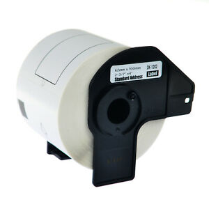 1 Roll Dk1202 White Address Labels 300 Labels For Brother Ql 550 710w W 1 Frame