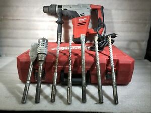 Milwaukee 1 9 16 Sds Max Rotary Hammer Model 5317 21 With Extra Drill Bits