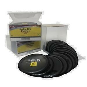 Black Jack Tire Repair Radial Tire Patch 4 Round Bjra 554 Box 20 New