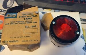 Cabco Do ray Tiger ey Vintage Stop Light Lamp Tail 1209 P 1254