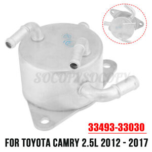 Automatic Transmission Oil Cooler Kit 33493 33030 For Toyota Camry 2 5l 12