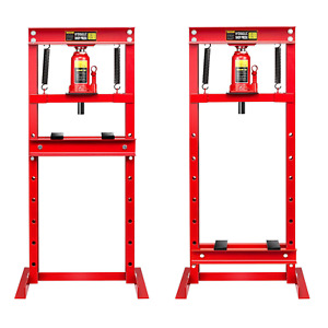 12 Ton H Frame Plates Hydraulic Shop Press