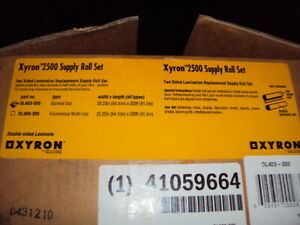 Xyron Dl403 300 Standard Laminate Roll Set For Use With Xm2500 3m Ls1050