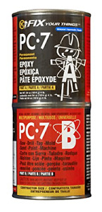 Pc Products Pc 7 Epoxy Adhesive Paste Two part Heavy Duty 4 Lb In Two Cans