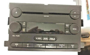 2005 Ford Ranger Cd Player Am Fm Radio Stereo 6s4t 18c869 Bd Oem Used