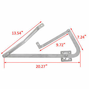 Pair Attic Ladder Spreader Hinge Arms For Mfg After 2010