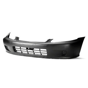 Fits 1999 2000 Honda Civic Coupe Front Bumper Cover 101 50426
