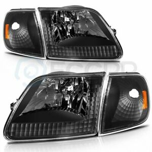 For 1997 2003 Ford F 150 1997 2002 Ford Expedition Replace Headlights Assembly