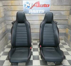 2017 Fiat 124 Spider Abart Front Bucket Seats Sport Leather Convertible L R