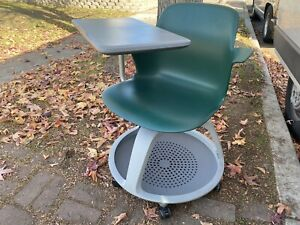 Office Furniture Steelcase Node Classroom Seating Mobile Tablet Arm Chair