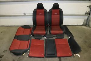 2012 2015 Honda Civic Si Sedan 4dr Oem Front Rear Seats airbags Red Black