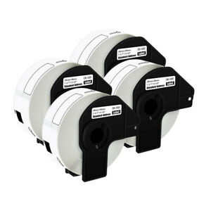 4 Rolls Dk1201 White Address Labels 400 Labels For Brother Ql 700 710w W 4 Frame