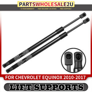 2x Rear Tailgate Lift Supports Gas Spring Struts For Chevrolet Equinox 2010 2017