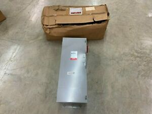 New Westinghouse 100amp 240vac Heavy Duty Safety Disconnect Switch Hfn223