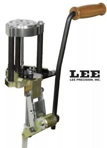 Lee Precision 4 Hole Turret Reloading Press with Auto Index # 90932 New $399.00