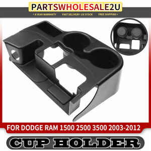 Center Console Black Cup Holder For Dodge Ram 1500 2500 3500 1999 2001 Ss281azaa