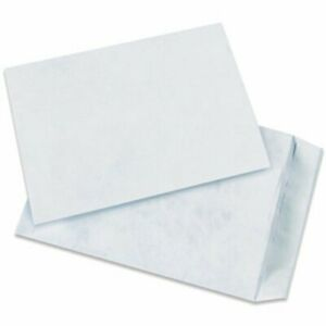 Aviditi Tyvek Flat Self seal Envelopes 10 X 15 White Top Opening Tear And M